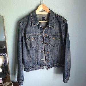 GAP womens jean jacket Size XL
